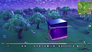 Fortnite CUBE IS MOVING INGAME AND REVEALS SECRET RUNE