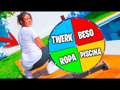 RULETA MISTERIOSA CON PATTY Y MIS AMIGOS !! *NO FUE BUENA IDEA* MYSTERY Wheel Makiman