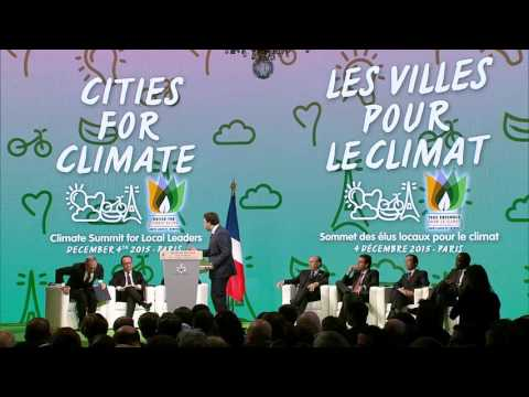 Climate Summit for Local Leaders Morning Sessions