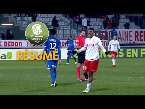 AS Nancy Lorraine - AJ Auxerre ( 1-0 ) - Résumé - (ASNL - AJA) / 2018-19