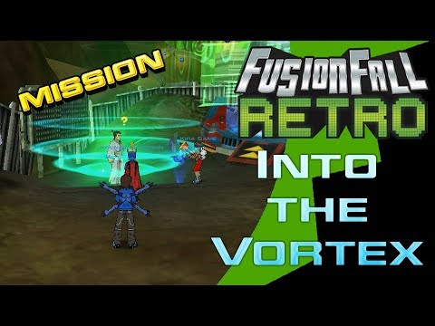 FusionFall Retro Beta - New Mission v1 1 - Into the Vortex