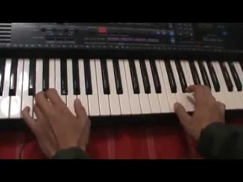 How to play piano with both hands (exercise)| Easy Beginner | Learn Piano 2DAY