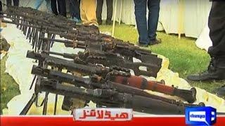 Karachi Was Preparing for War - Dunya News Headlines 9 PM Bulletin - 19 October 2016