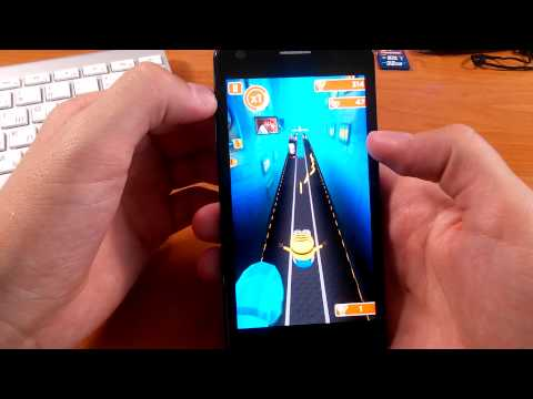 Alcatel One Touch iDol Ultra 6033X Тест Игр