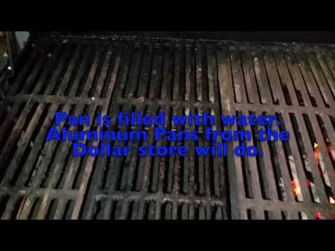 Starting a Fire and Grilling for Indirect Cooking