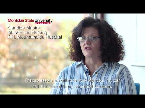 Nurses further their education with Montclair State's new on