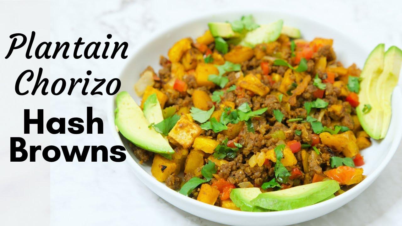 Download Plantain Chorizo Hash browns | Vegan Breakfast Idea