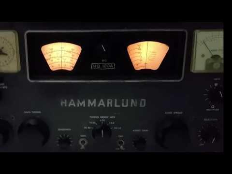CUBAN MW DX ~ Radio 26 1060khz ~ Hammarlund HQ-100A