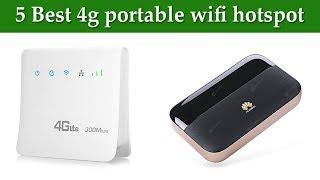 5 Best 4g portable wifi hotspot in 2019