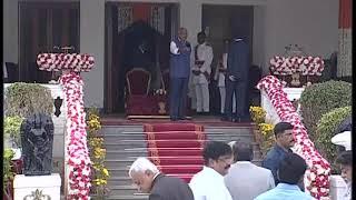 CM KCR Swearing Ceremony At Raj Bhavan 2018 LIVE  Pramana Sweekaram  Highlights 8