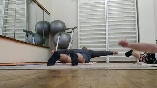 Часть 3 Упражнения для укрепления спины лежа на боку