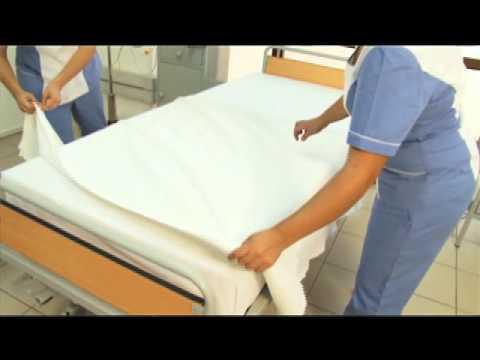 Confecci n cama 2 parte youtube for Cama cerrada