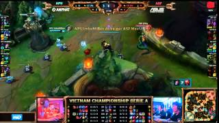 17 05 2015 apu vs asf highlight vcsa ma h 2015 tuần 1