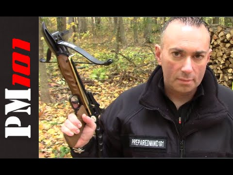The 80lb Crossbow Pistol: Compact Survival Option? - Preparedmind101