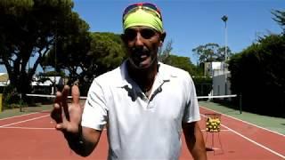 Tenis , ejercicios de pared.