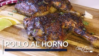 Pollo al Horno | Sofrito Stuffed Chicken | Baked Chicken Recipe | Chef Zee Cooks