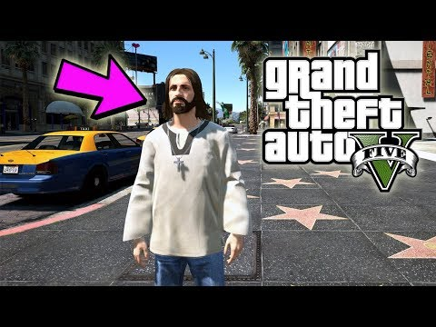 ME CONVERTÍ EN JESUS !!  - Grand Theft Auto V Mods