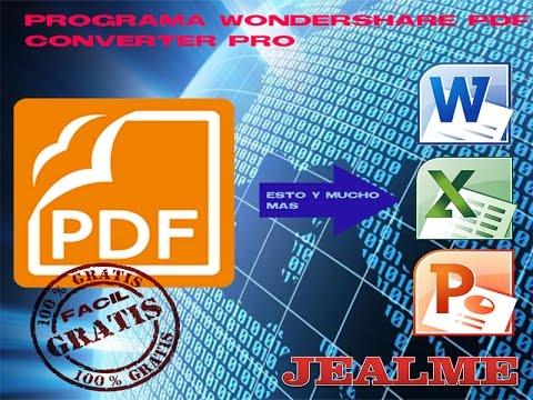 como convertir de pdf a word, exel, powerpoint, total