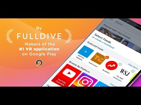 Fulldive Browser (ex-Evry) in 58 seconds