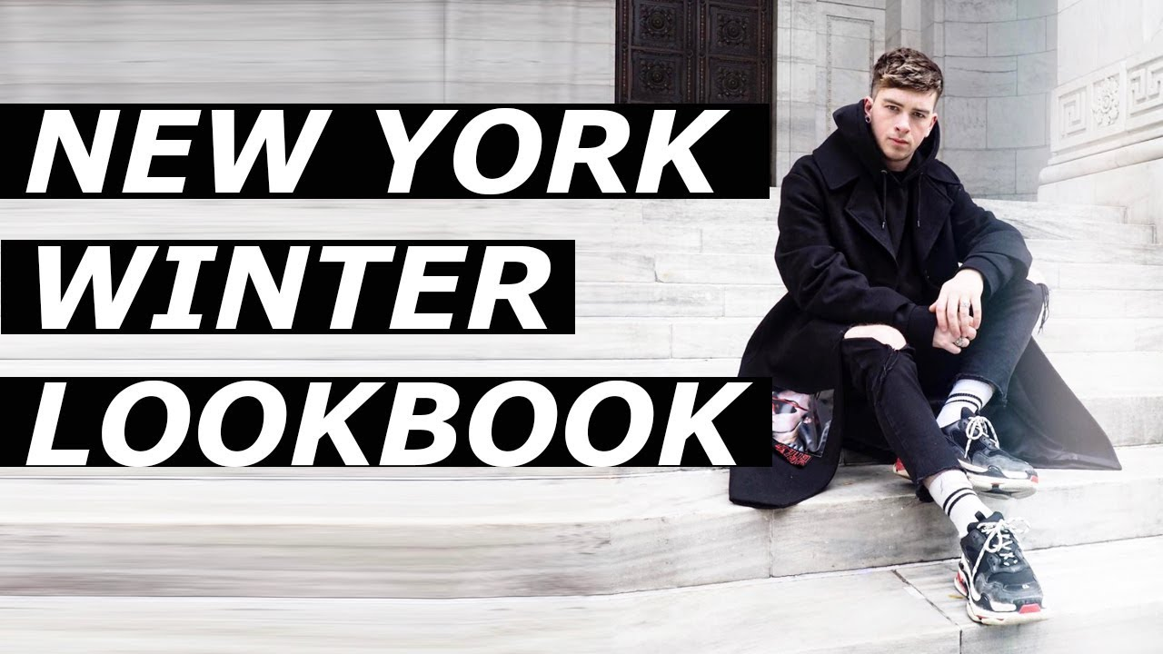 [VIDEO] - NEW YORK WINTER LOOKBOOK | High End Outfits| Gallucks 9