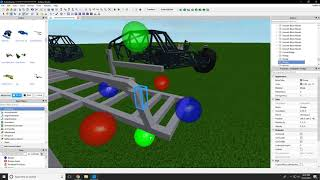 Roblox Monster Jam Building: Building A New Chassis (Part 1)