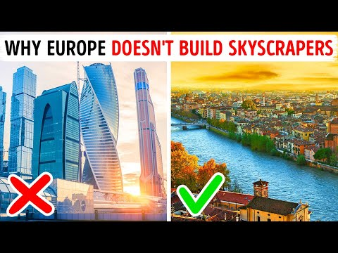 Why Europe Doesn't Build Skyscrapers Like US or Asia