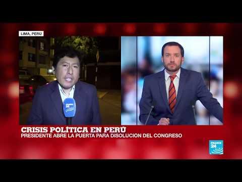 Informe desde Lima: Vizcarra abre la puerta para disolver el Congreso