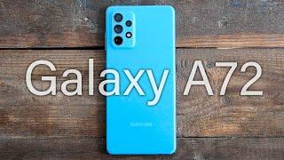 Samsung Galaxy A72 - Обзор