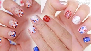 Cute & Easy Nail Art For Beginners - Memorial Day Polish Designs Contest Time