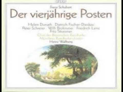 Der vierjährige Posten Opera von Franz Schubert