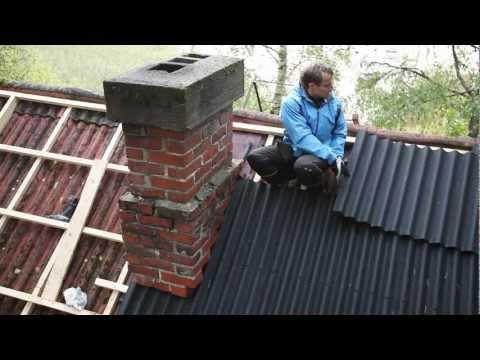 видео: Ондулин. Монтаж новой кровли / onduline. your new roof coating