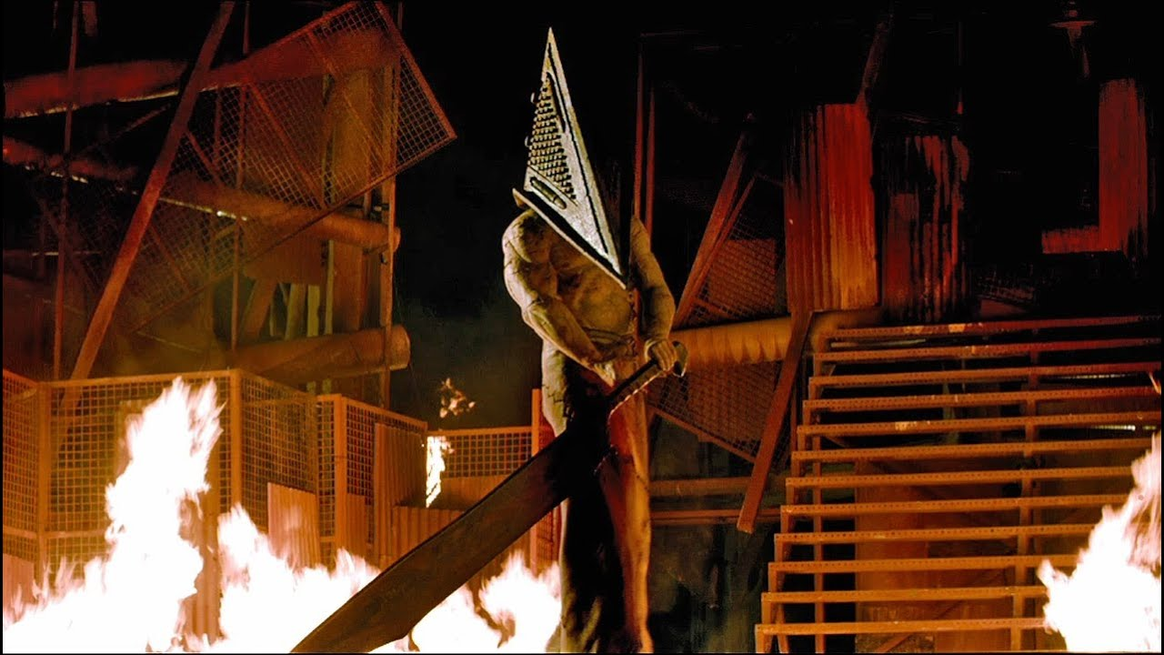 """Silent Hill: Revelation 3D"" Trailer - Full HD - Pyramid ...Silent Hill Revelation Pyramid Head Fight Scene"