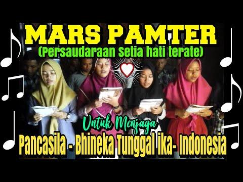 MARS PAMTER PSHT (PERSAUDARAAN SETIA HATI TERATE)