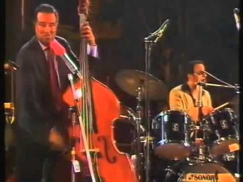 "Ray Brown, Gene Harris & Grady Tate, in ""Take The A Train"", Live, Jazzfestival,Bern, 1985."