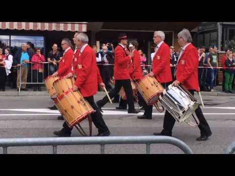Musikgesellschaft Kirchberg-Ersigen BE am Musikfest in Montreux 2016