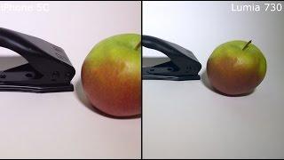 Сравнение видео Lumia 730 и iPhone 5C