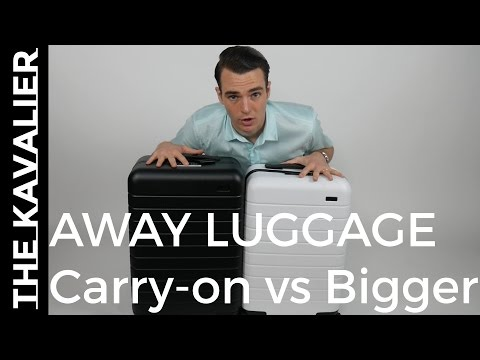 Away Bigger Carry-on vs Regular Carry-on   Field Tested and Compared