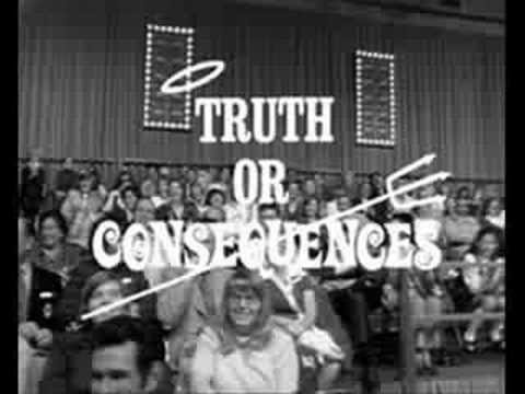 Truth or Consequences- Episode 1