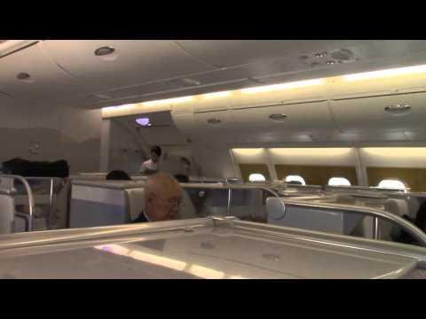EMIRATES A380 Business Class (Personal Mini Bar)