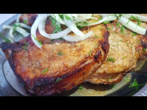 Стейки в духовке, как шашлык, по-цыгански. Корейка запечёная в духовке. Gipsy cuisine.��