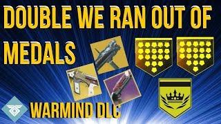 2 Loadouts 2 We Ran Out Of Medals - WARMIND DLC - DESTINY 2