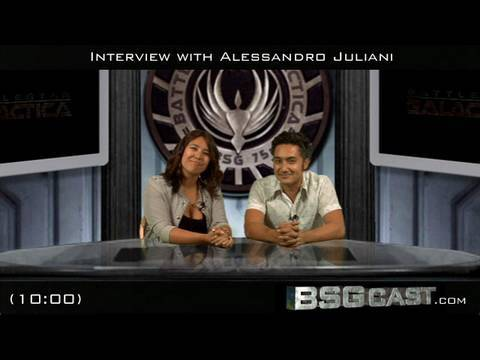 BSGcast: Interview with Alessandro Juliani