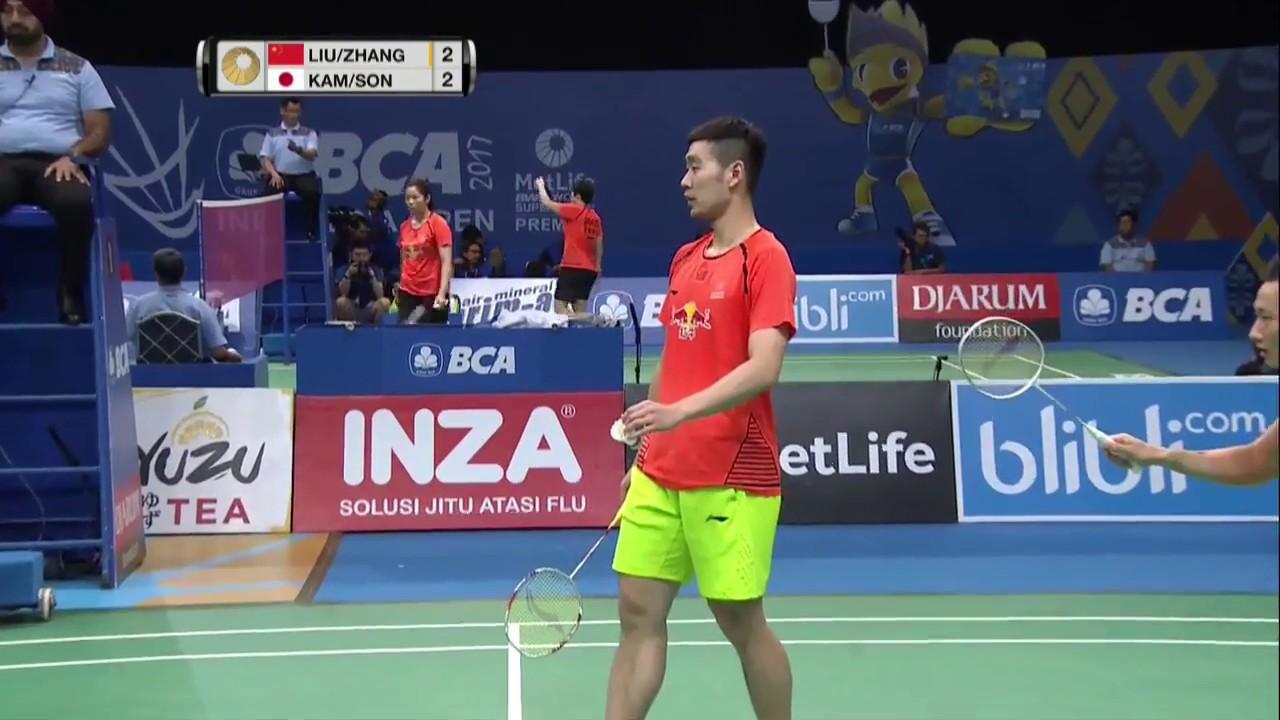 Bca Indonesia Open  Badminton Qf M Md Liuzhang Vs Kamson