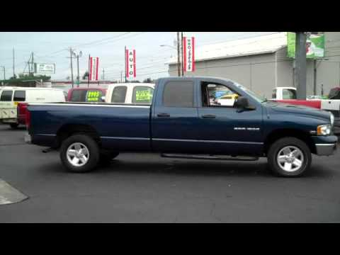 2003 Dodge Ram 1500 Slt Pickup Quad Cab Long Bed 4x4 Youtube