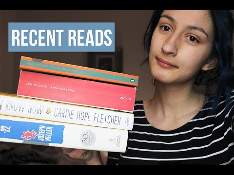 Recent Reads   #1   Catch 22, Tolstoy...