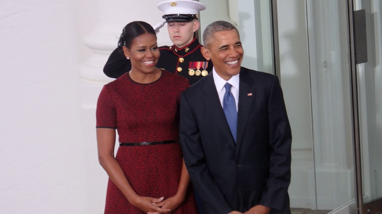 The obamas greet the trumps at the white house january 20 2017 the obamas greet the trumps at the white house january 20 2017 april ryan m4hsunfo