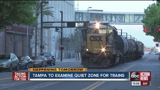 Downtown Tampa residents want to silence trains