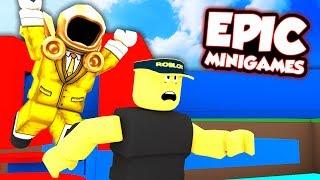 EPIC ROBLOX MINI GAMES!