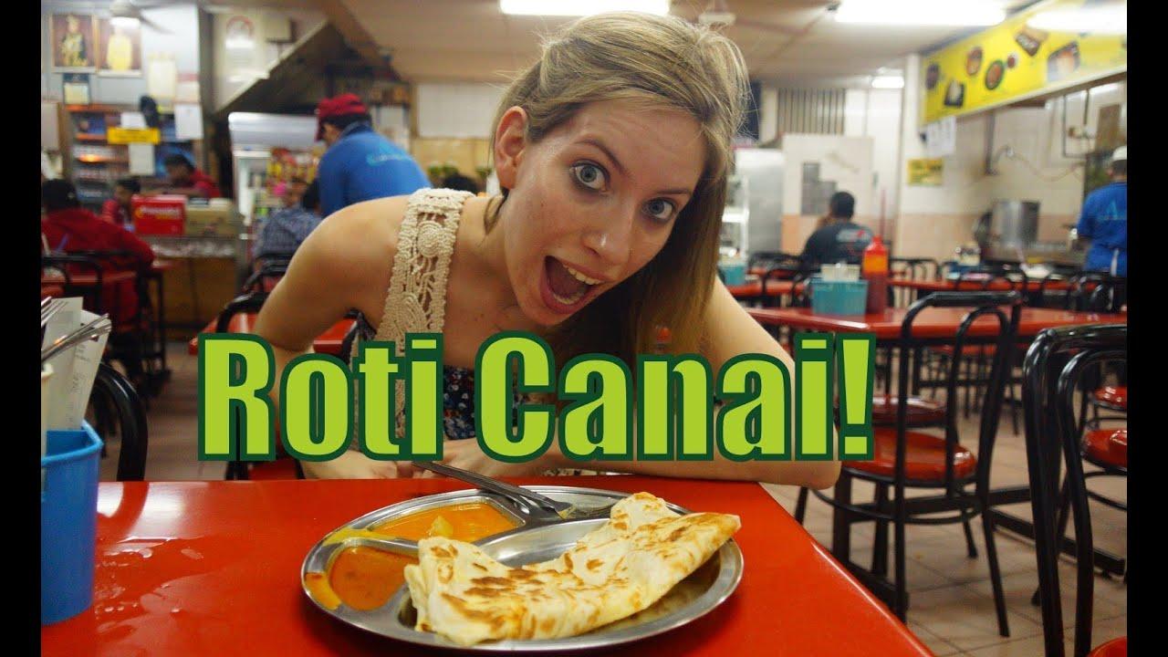Eating Roti Canai in Kuala Lumpur, Malaysia - YouTube