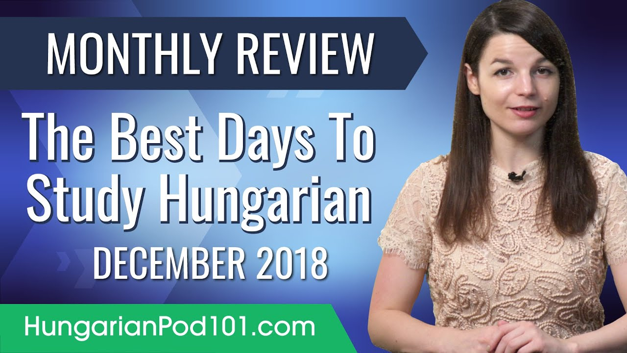 Why Your Worst Days Are The Best Days To Study? | Hungarian December Review